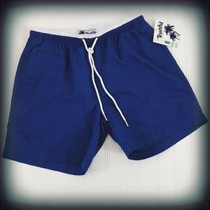 Trunks Men's Royal Blue Swim Trunks Sm. NWT